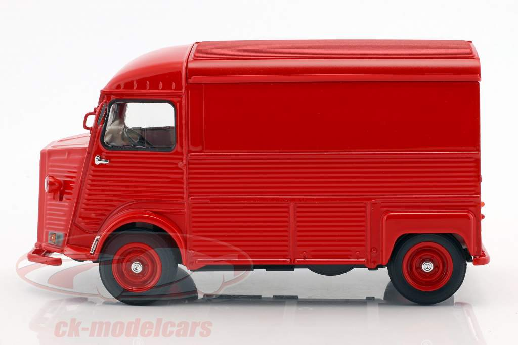 Citroen Type H Opførselsår 1962 rød 1:24 Welly