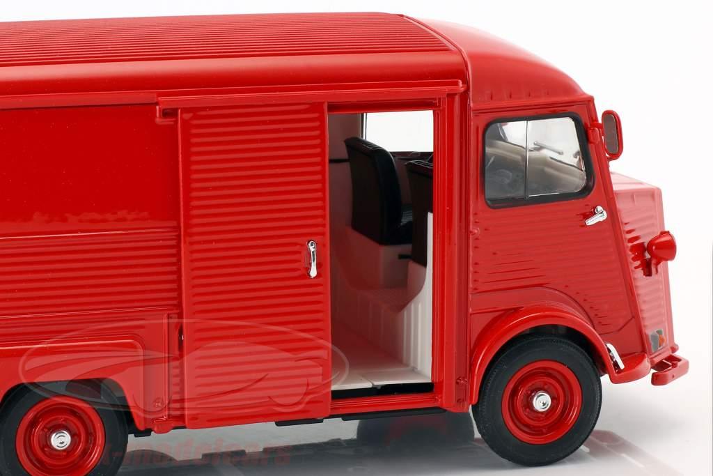 Citroen Type H anno di costruzione 1962 rosso 1:24 Welly
