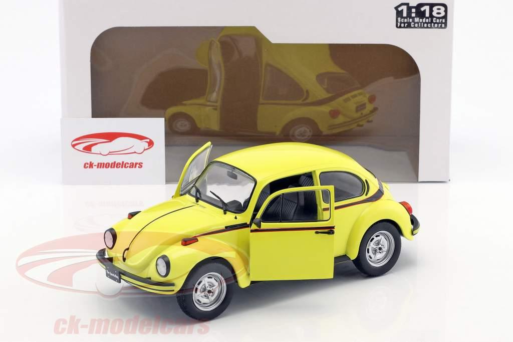 Volkswagen VW besouro 1303 Sport ano de construção 1974 amarelo 1:18 Solido