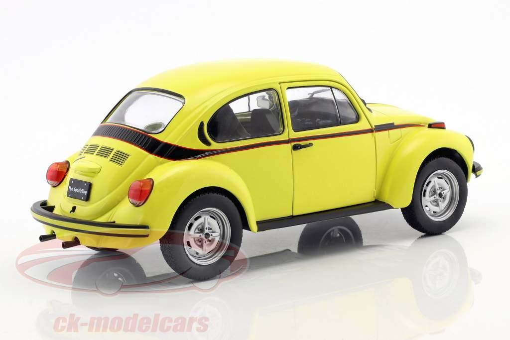 Volkswagen VW coléoptère 1303 Sport année de construction 1974 jaune 1:18 Solido