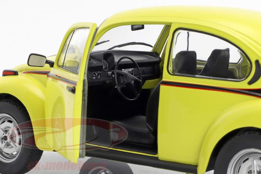 Volkswagen VW kever 1303 Sport Bouwjaar 1974 geel 1:18 Solido
