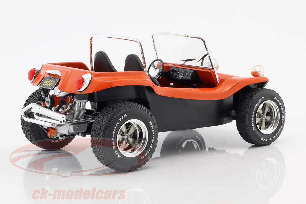 Meyers Manx Buggy año de construcción 1968 película The Thomas Crown Affair (1968) naranja 1:18 Solido