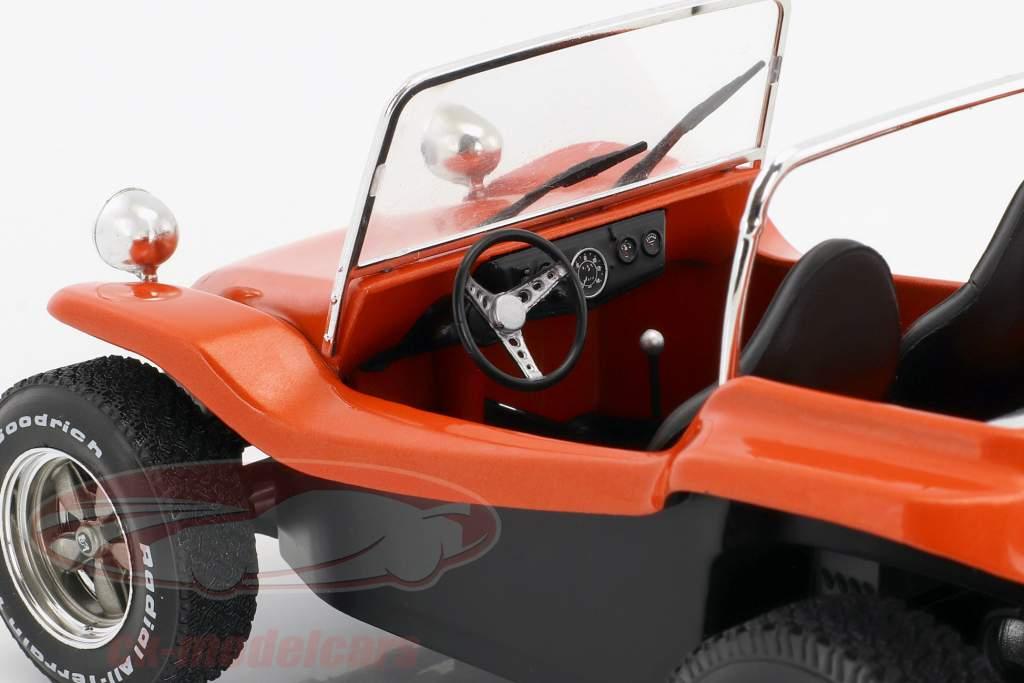 Meyers Manx Buggy anno di costruzione 1968 film The Thomas Crown Affair (1968) arancione 1:18 Solido
