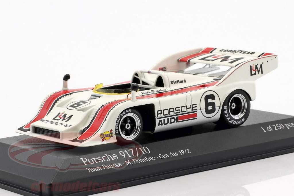 Porsche 917/10 #6 segundo Mosport Can-Am 1972 Mark Donohue 1:43 Minichamps