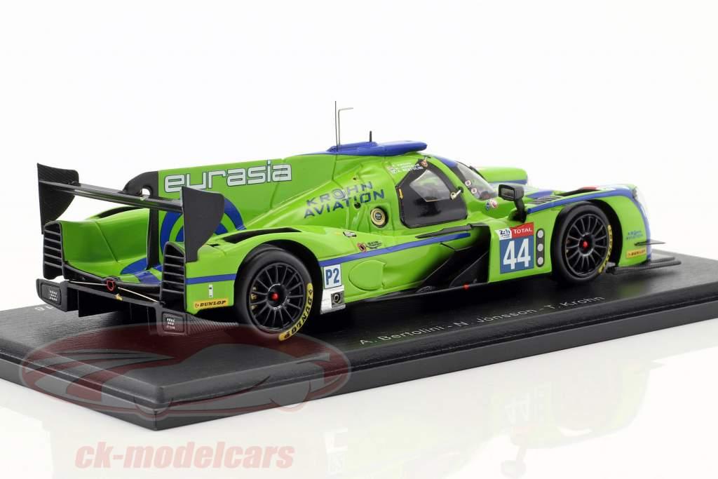 Ligier JS P217 #44 24h LeMans 2018 Bertolini, Jönsson, Krohn 1:43 Spark
