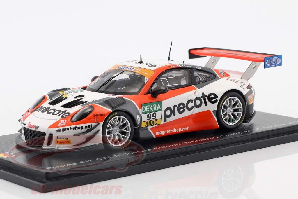 Porsche 911 GT3 R #99 Champion ADAC GT Masters 2018 1:43 Spark