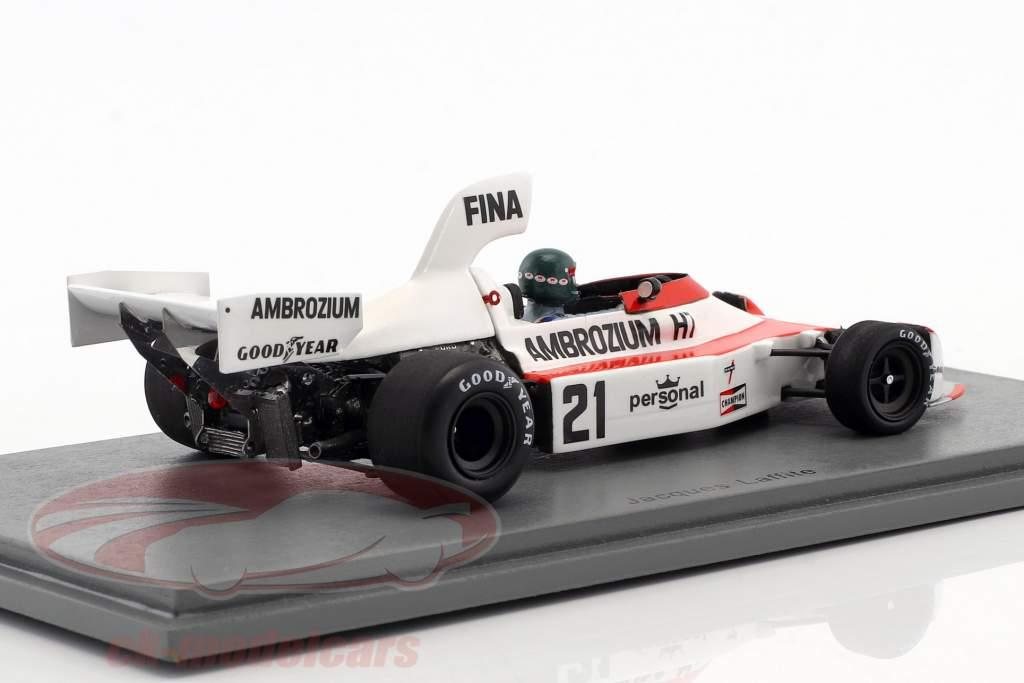 Jacques Laffite Williams FW04 #21 2 ° tedesco GP formula 1 1975 1:43 Spark