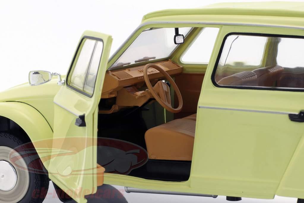 Citroen Dyane 6 Baujahr 1967 gelb 1:18 Solido