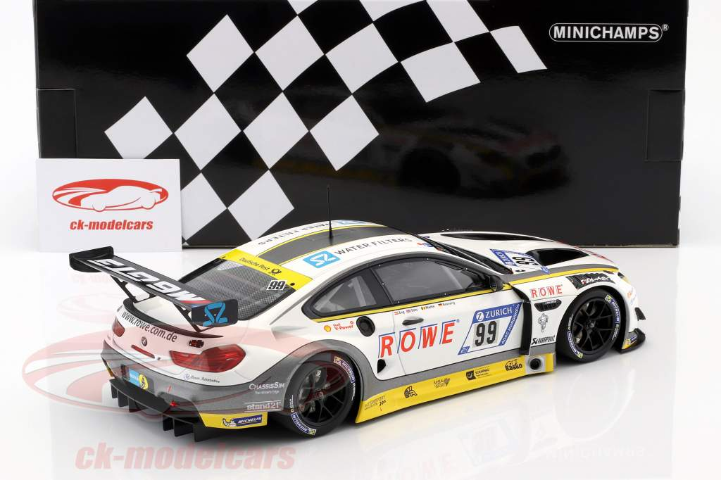 BMW M6 GT3 #99 10e 24h Nürburgring 2017 ROWE Racing 1:18 Minichamps