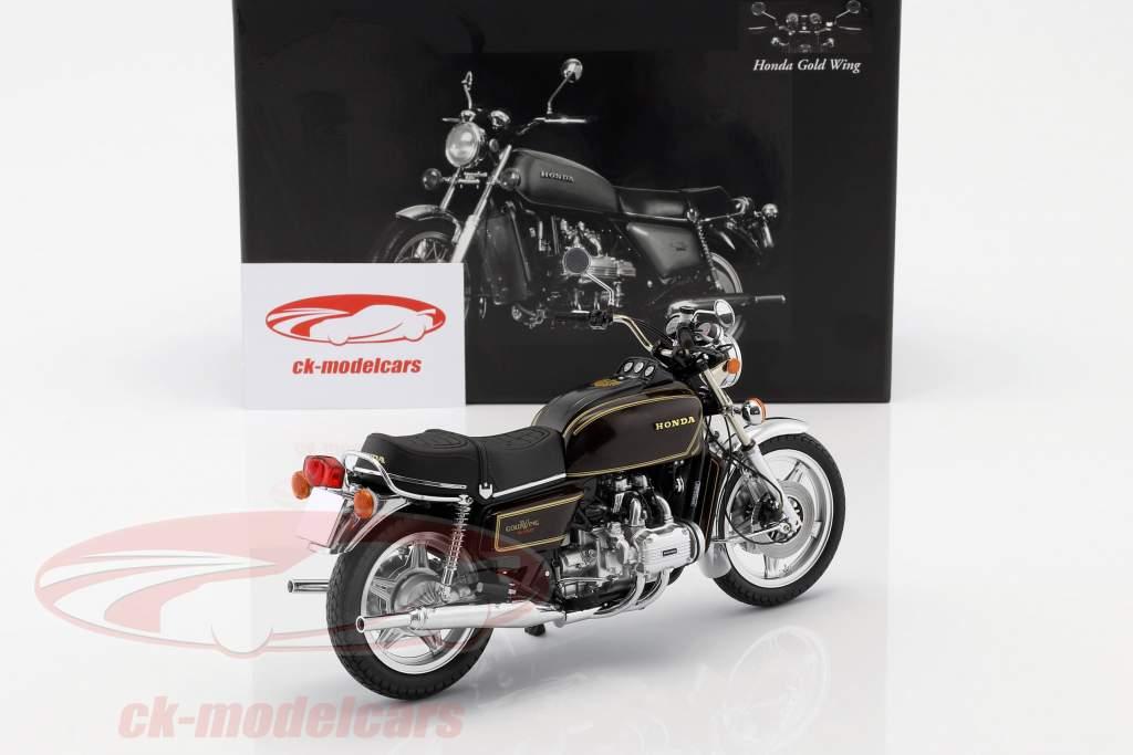 Honda Goldwing GL 1000 K3 anno di costruzione 1978 marrone metallico 1:12 Minichamps