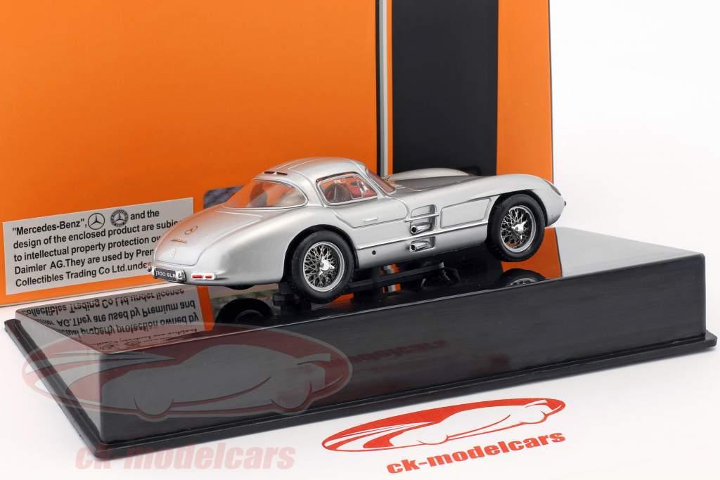 Mercedes-Benz 300 SLR Coupe Uhlenhaut (W196S) année de construction 1955 argent 1:43 Ixo