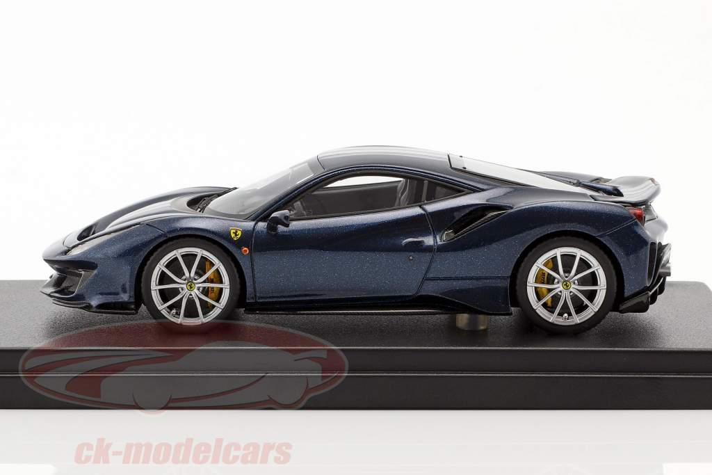 Ferrari 488 Pista year 2018 Tour de France blue 1:43 LookSmart