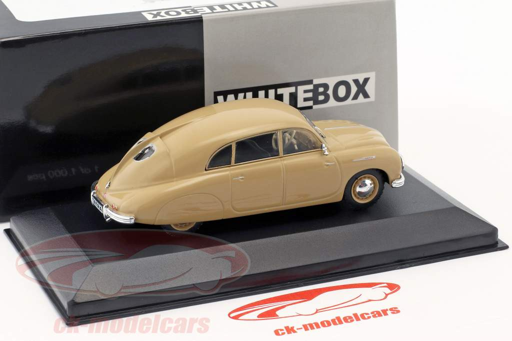 Tatra 600 Tatraplan anno di costruzione 1948-1952 beige 1:43 WhiteBox