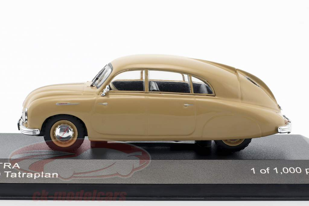 Tatra 600 Tatraplan Bouwjaar 1948-1952 beige 1:43 WhiteBox