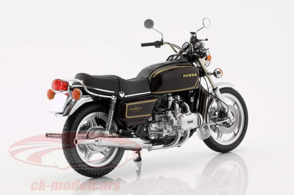 Honda Goldwing GL 1000 K3 Bouwjaar 1978 bruin metalen 1:12 Minichamps