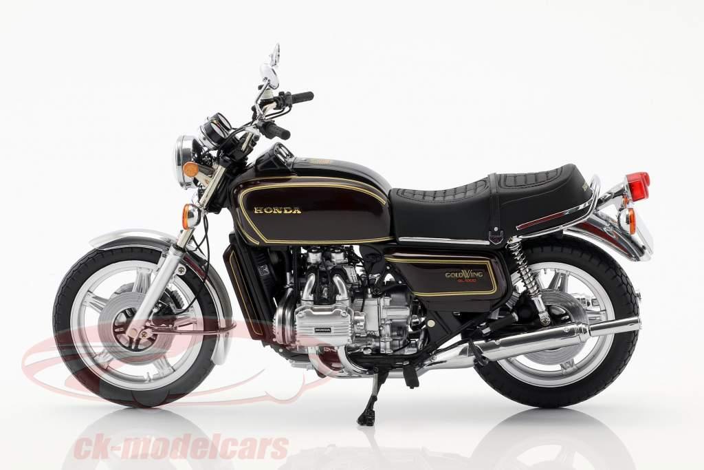 Honda Goldwing GL 1000 K3 ano de construção 1978 marrom metálico 1:12 Minichamps
