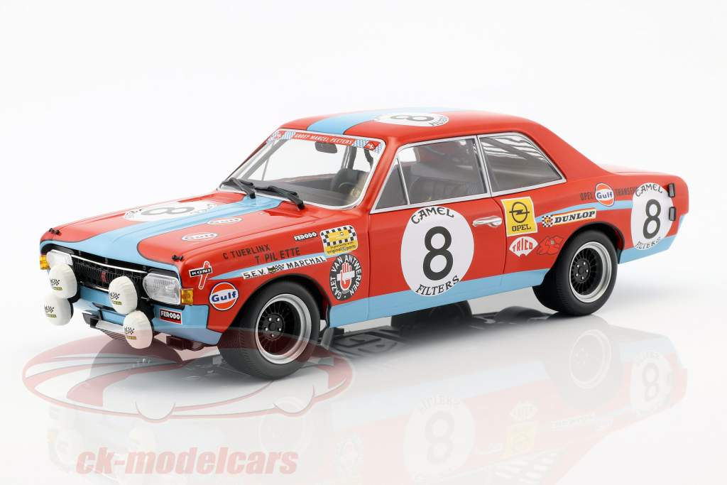 Opel Commodore A Steinmetz #8 24h Spa 1972 Tuerlinx, Pilette 1:18 Minichamps