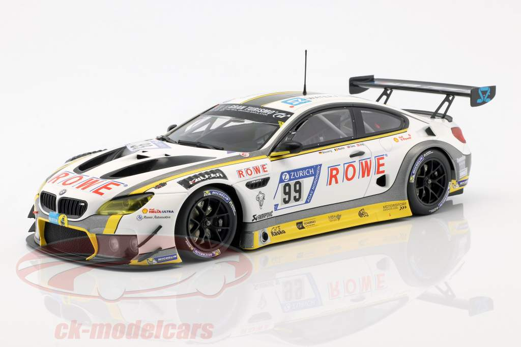 BMW M6 GT3 #99 10 24h Nürburgring 2017 ROWE Racing 1:18 Minichamps