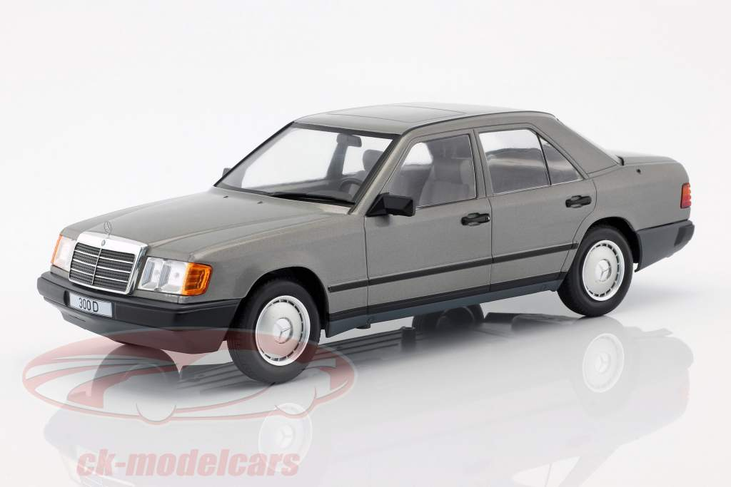 Mercedes-Benz 300 D (W124) Baujahr 1984 grau metallic 1:18 Model Car Group