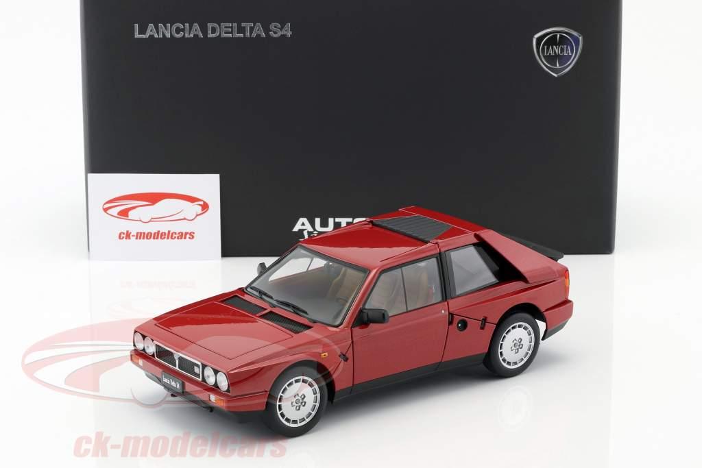 Lancia Delta S4 Baujahr 1985 rot 1:18 AUTOart