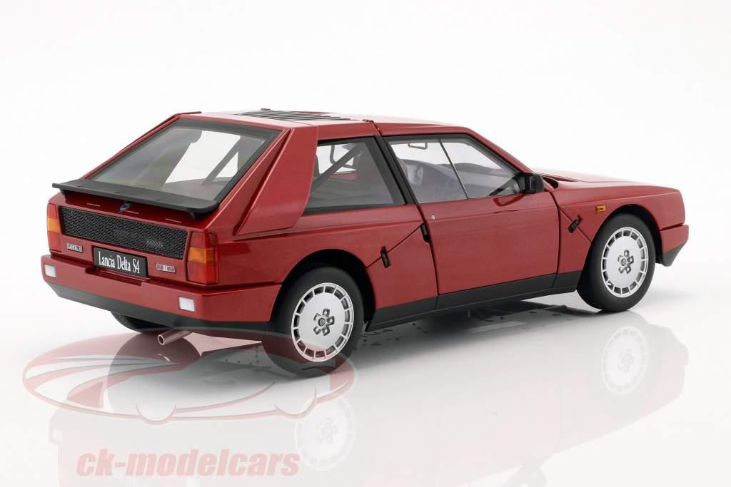 Lancia Delta S4 Année 1985 rouge 1:18 AUTOart