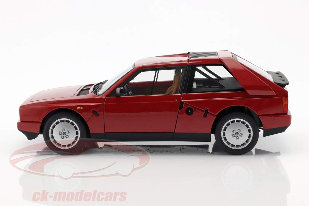 Lancia Delta S4 År 1985 rød 1:18 AUTOart