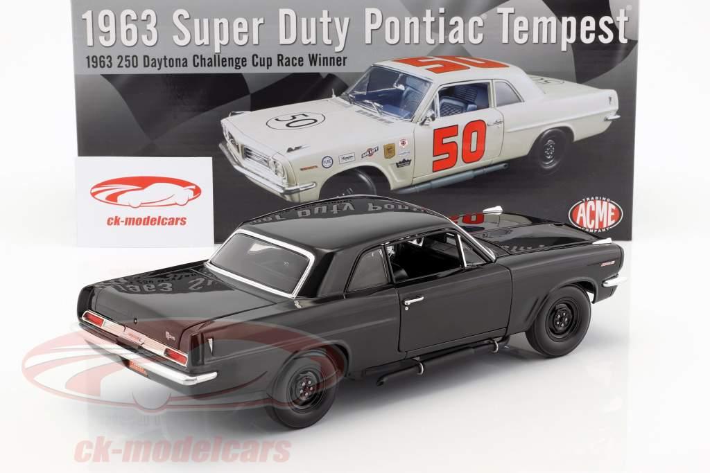 Pontiac Tempest #50 year 1963 Winner 250 Daytona Challenge Cup Race 1963 1:18 GMP