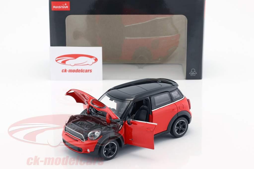 Mini Cooper S Countryman (R60) rot / schwarz 1:24 Rastar