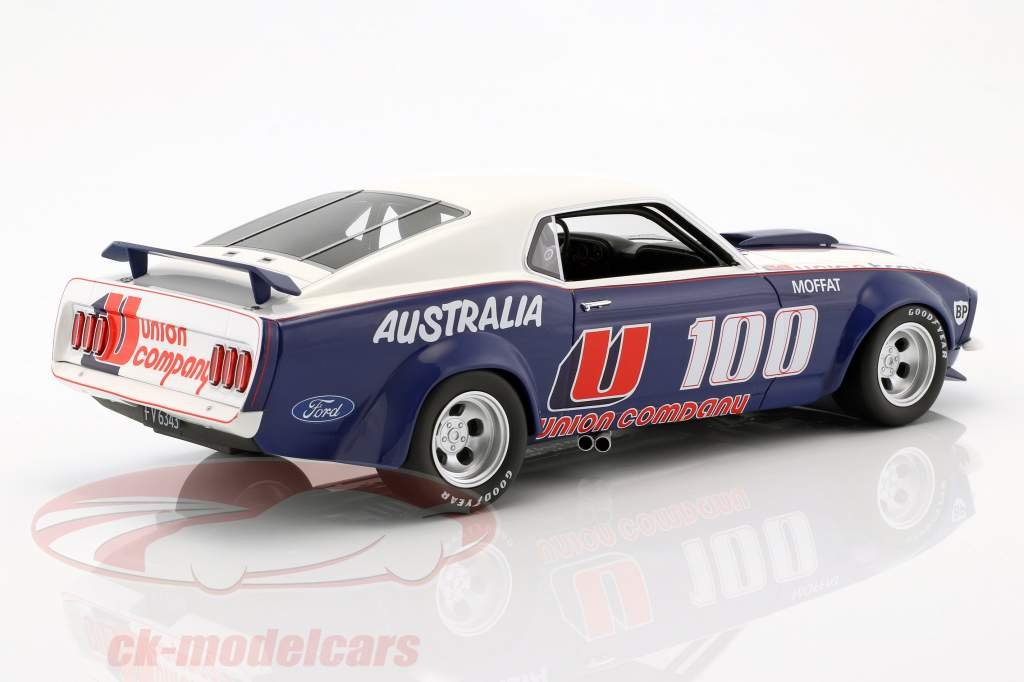 Ford Mustang Boss 302 Trans Am #U100 Opførselsår 1969 Allan Moffat 1:18 Real Art Replicas