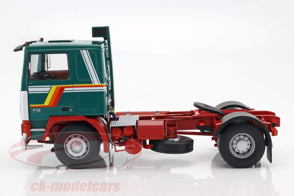 Volvo F12 tracteur année de construction 1977 vert / blanc / rouge 1:18 Road Kings