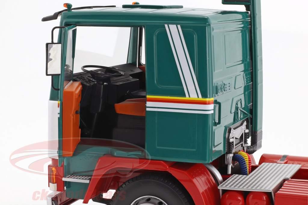 Volvo F12 tractor año de construcción 1977 verde / blanco / rojo 1:18 Road Kings