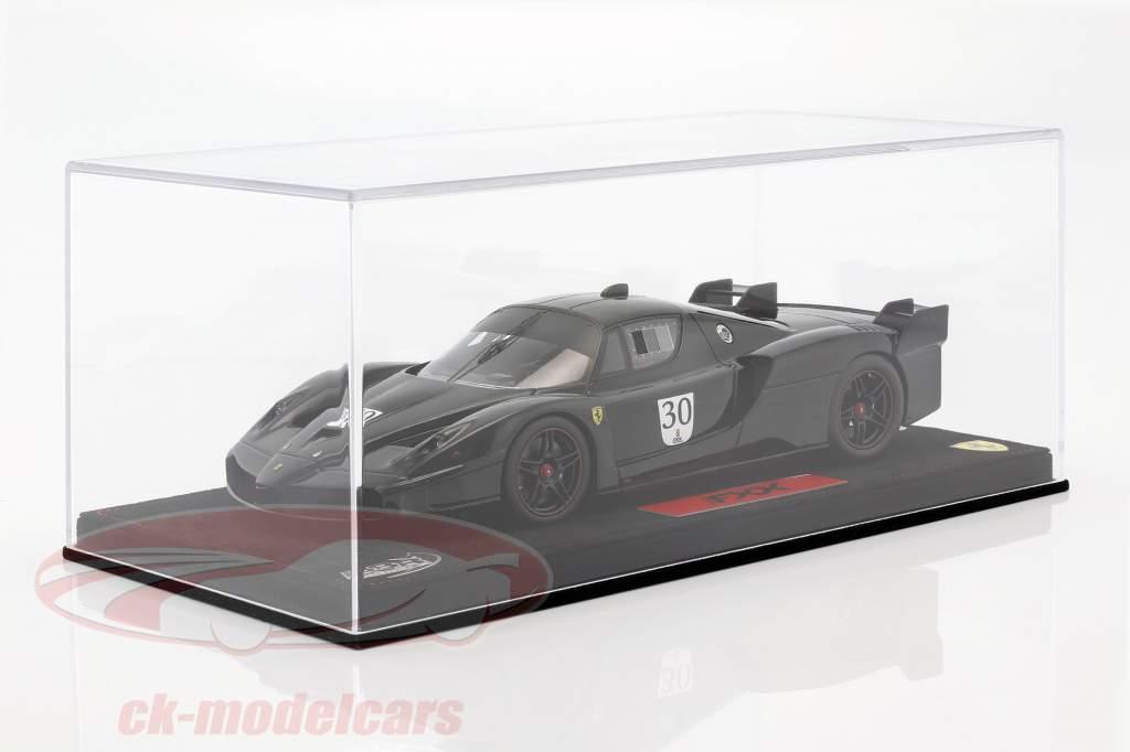 M. Schumacher Ferrari FXX Nero DS 1250 #30 with Showcase black 1:18 BBR