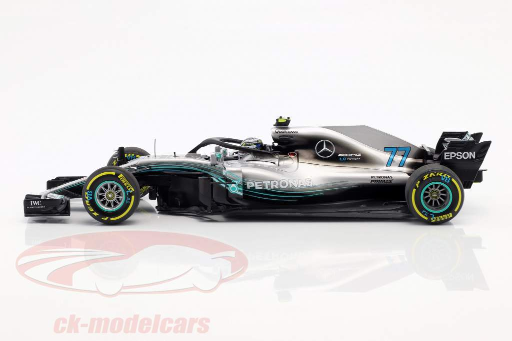 Valtteri Bottas Mercedes-AMG F1 W09 EQ Power  #77 Formel 1 2018 1:18 Minichamps