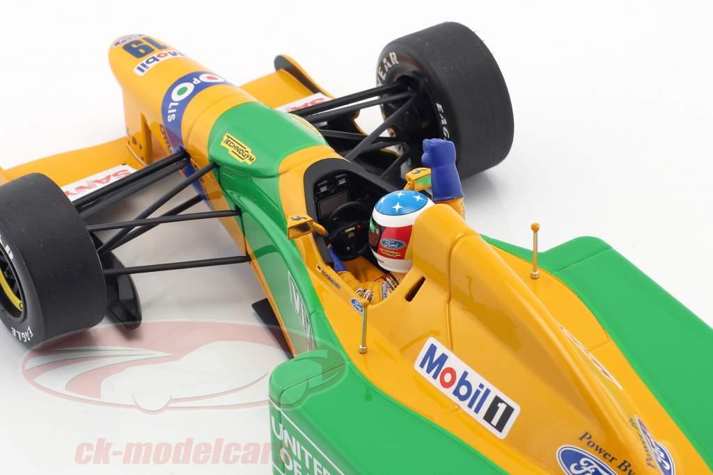 M. Schumacher Benetton B192 #19 1st GP Victory Spa Formel 1 1992 1:18 Minichamps