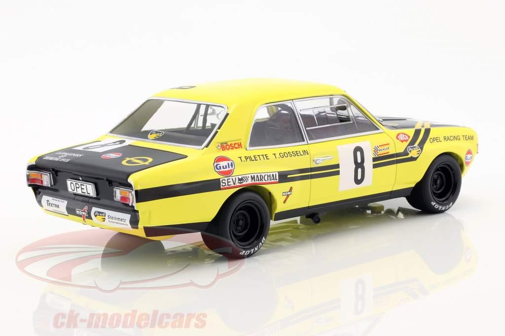 Opel Commodore A Steinmetz #8 24h Spa 1970 Pilette, Gosselin 1:18 Minichamps