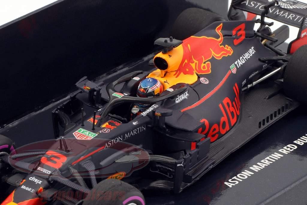 D. Ricciardo Red Bull Racing RB14 #3 vencedor Monaco GP F1 2018 1:43 Minichamps
