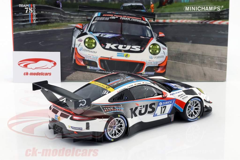 Porsche 911 GT3 R #17 24h Nürburgring KÜS Team 75 Bernhard 1:18 Minichamps