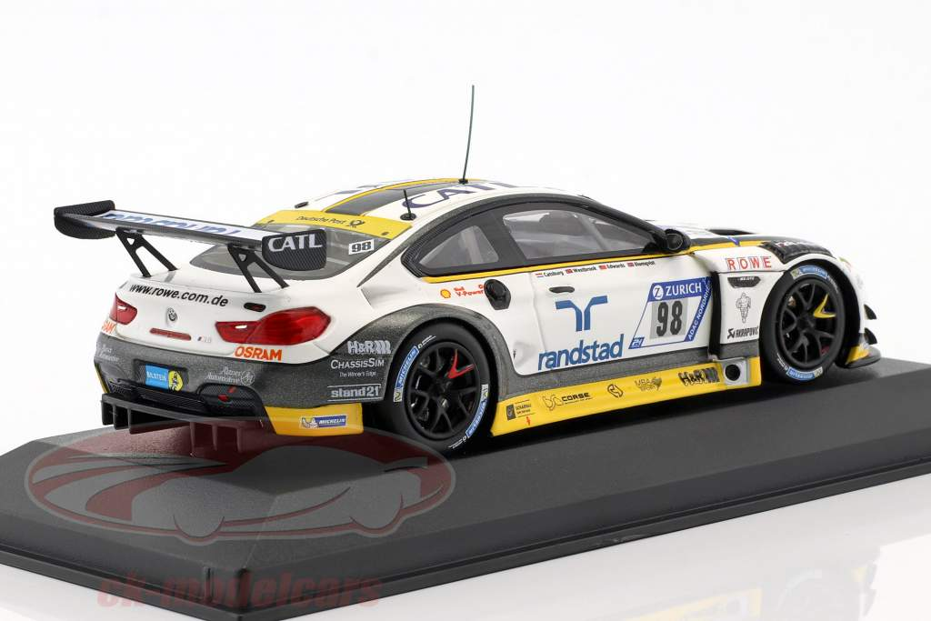 BMW M6 GT3 #98 24h Nürburgring 2018 Rowe Racing 1:43 Minichamps