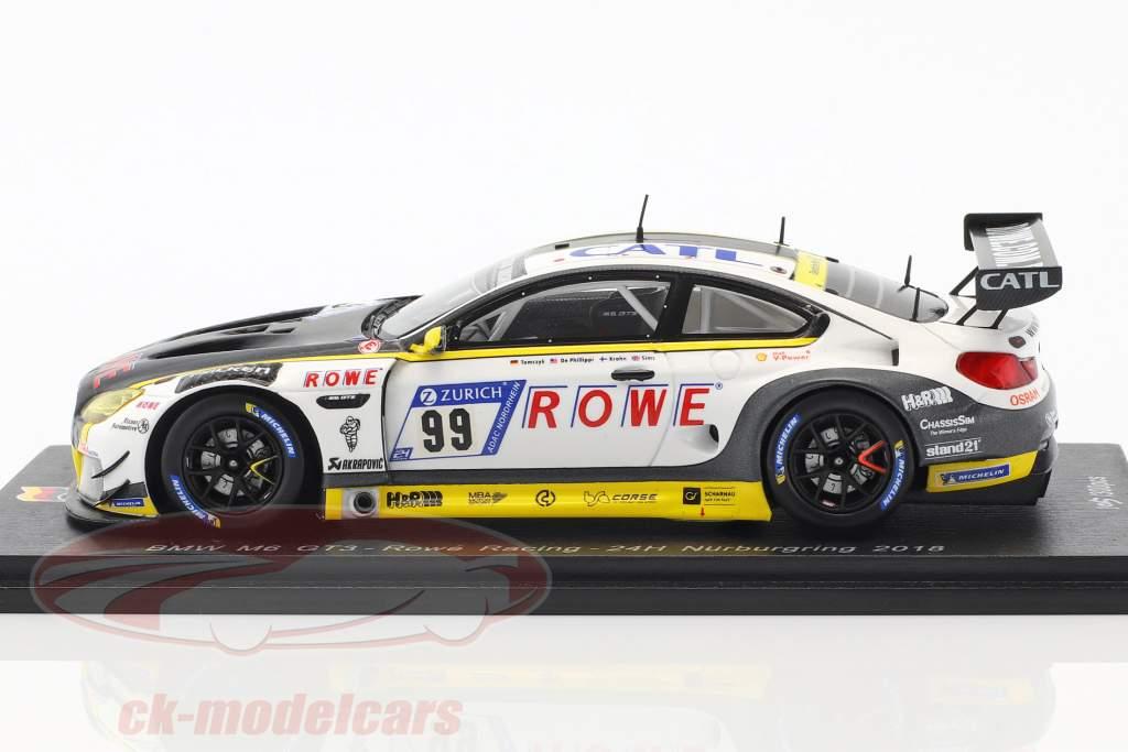 BMW M6 GT3 #99 24h Nürburgring 2018 Rowe Racing 1:43 Spark