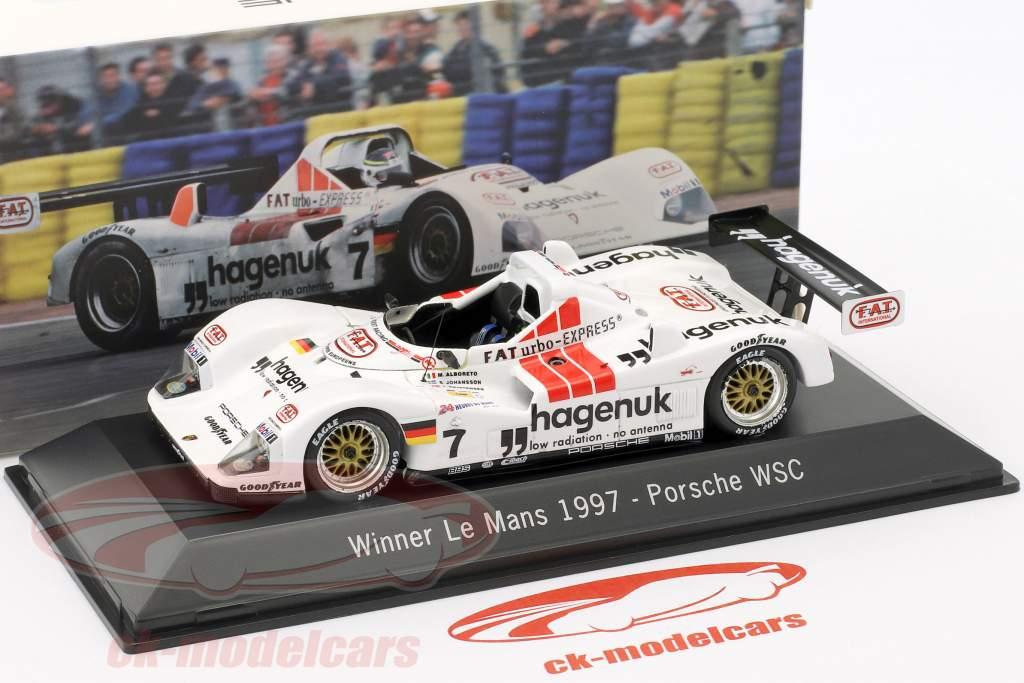 Porsche 935/76 WSC #7 Vinder 24 LeMans 1997 Joest Racing 1:43 Spark