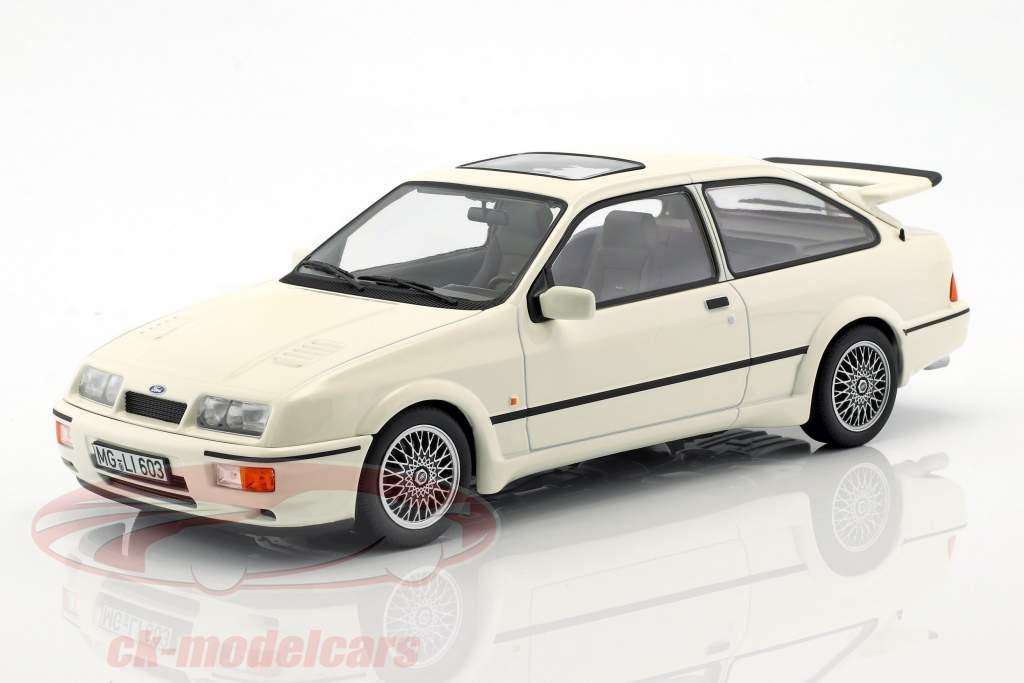 Ford Sierra RS Cosworth anno di costruzione 1986 bianco 1:18 Norev