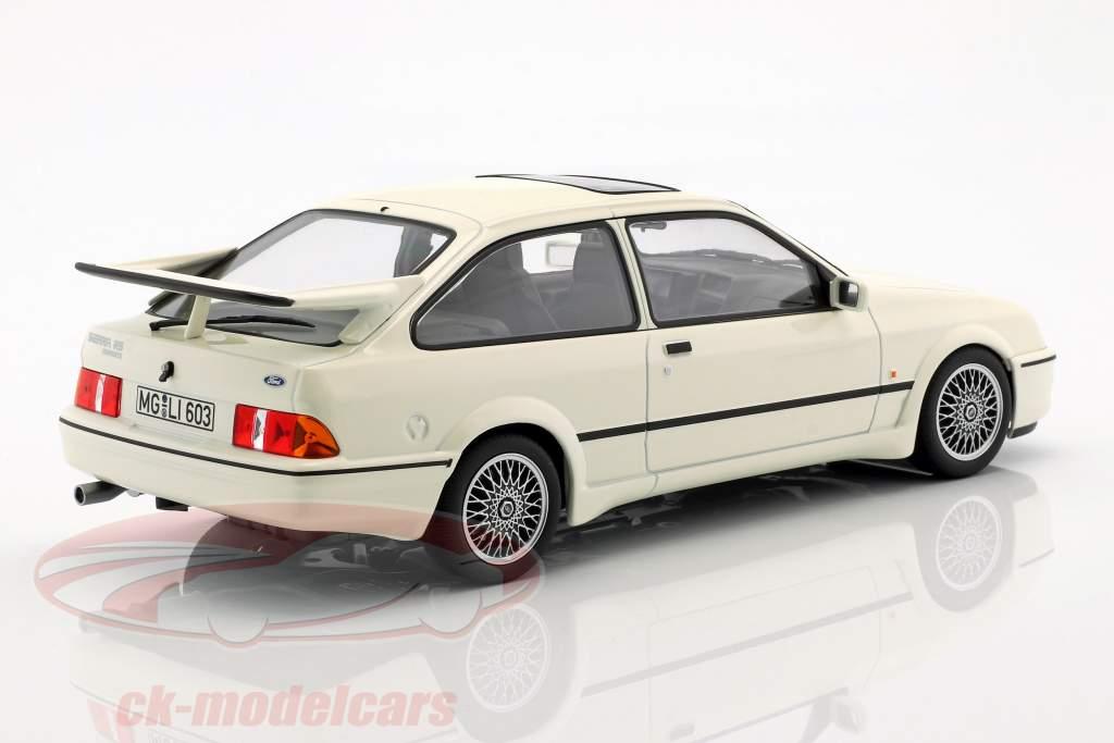 Ford Sierra RS Cosworth Opførselsår 1986 hvid 1:18 Norev