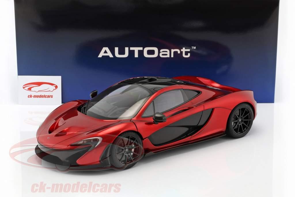 McLaren P1 año de construcción 2013 volcán rojo 1:12 AUTOart
