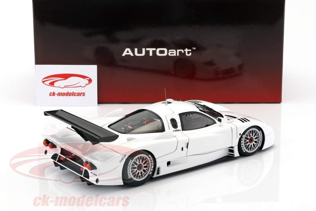 Nissan R390 GT1 LeMans year 1998 white 1:18 AUTOart