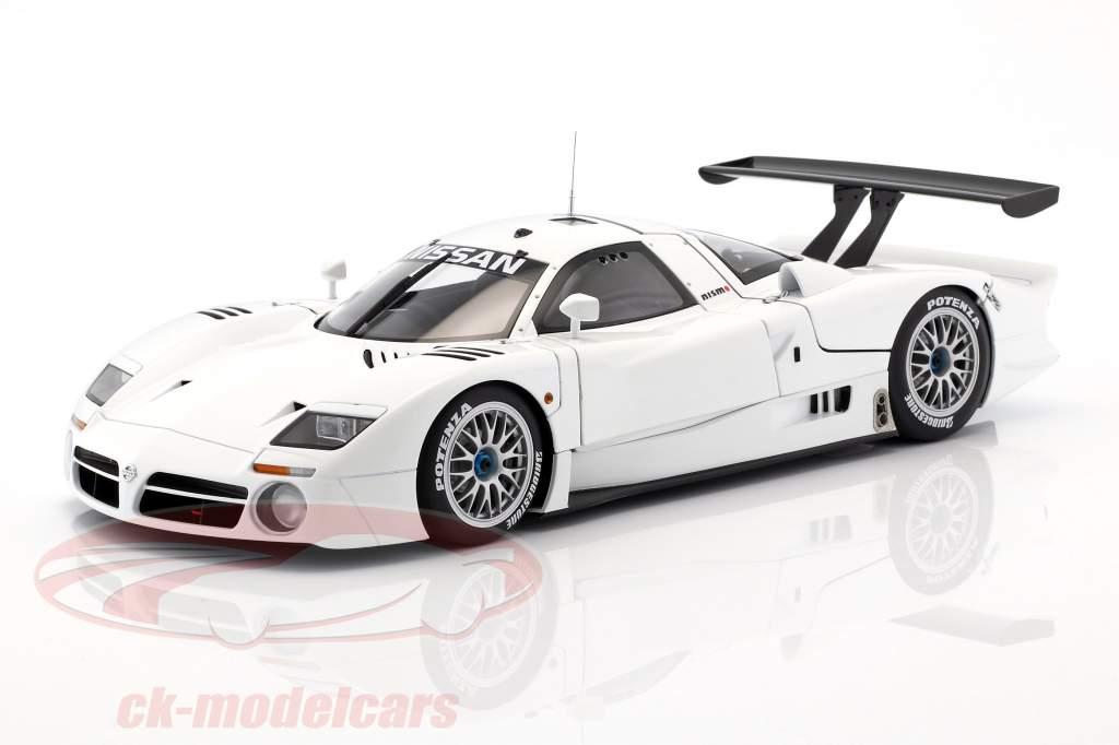 Nissan R390 GT1 LeMans año de construcción 1998 blanco 1:18 AUTOart