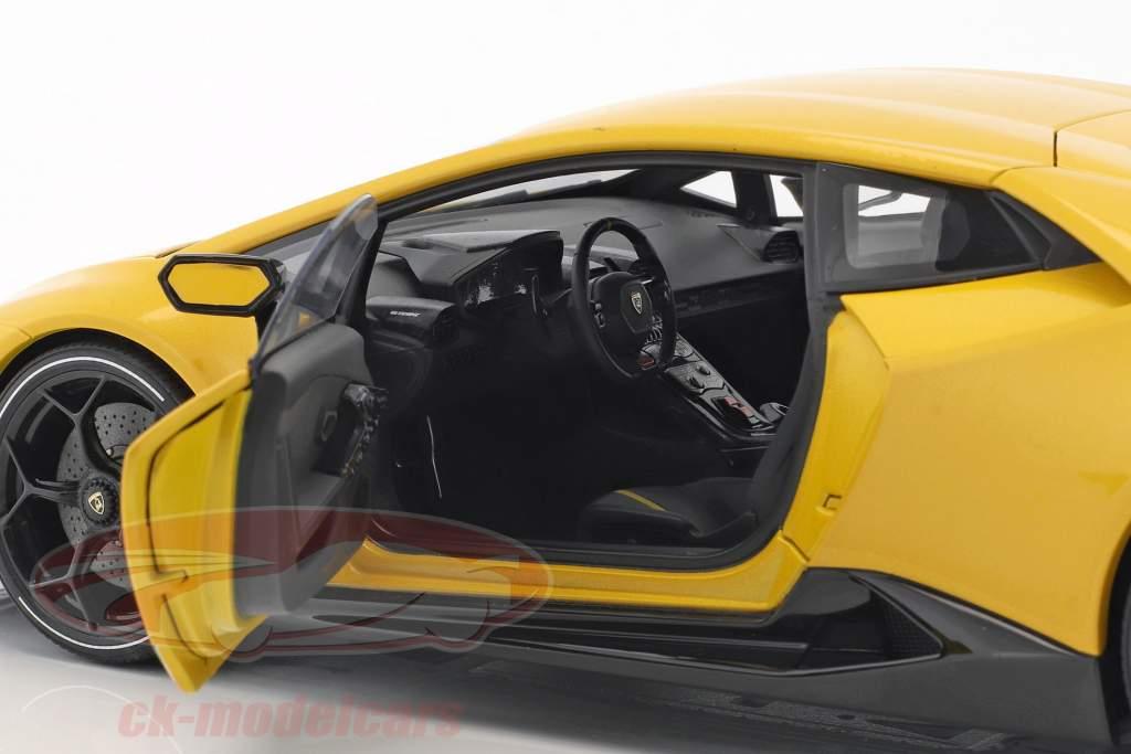 Lamborghini Huracan Performante Baujahr 2017 perlgelb 1:18 AUTOart