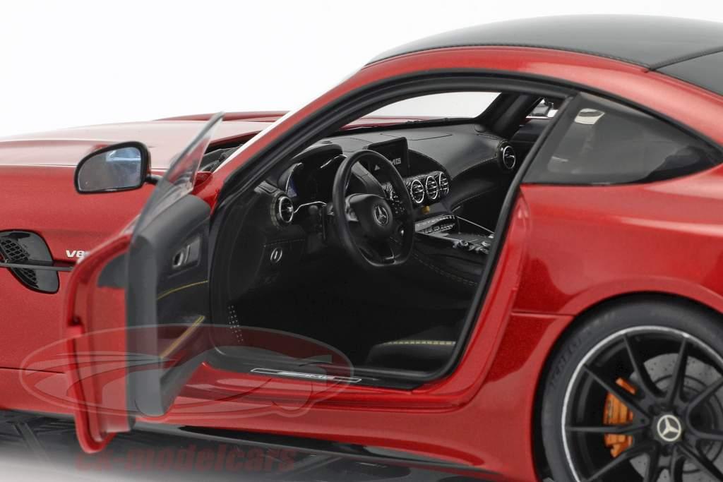 Mercedes-Benz AMG GT R Opførselsår 2017 designo kardinal rød metallisk 1:18 AUTOart