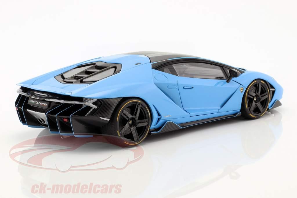 Lamborghini Centenario LP770-4 year 2017 cepheus blue metallic 1:18 AUTOart