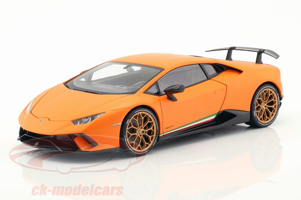 Lamborghini Huracan Performante year 2017 anthaeus orange 1:18 AUTOart