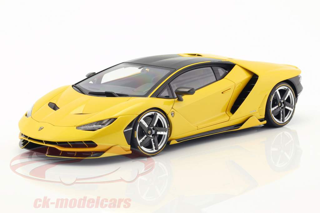 Lamborghini Centenario LP770-4 year 2017 orion yellow metallic 1:18 AUTOart